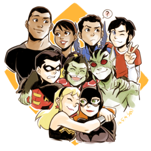 Young Justice Invasion Team