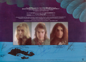 my Rush autographs