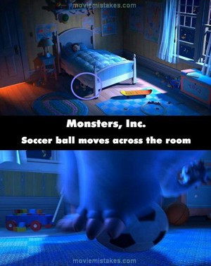 A mistake in monsters inc.