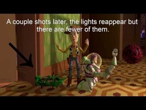 A mistake in toy story