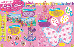 Barbie and The Secret Door Magazine