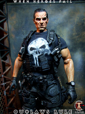 Calvin's Custom One Sixth The Punisher