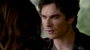 Damon and Elena