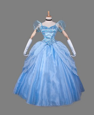 Disney Sinderella Princess Sinderella cosplay costume
