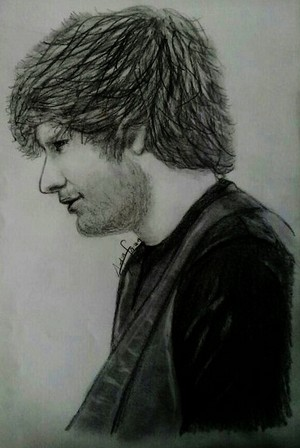 Ed Sheeran's drawing