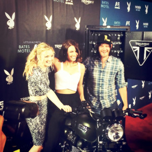 Emily Kinney,Lauren Cohan and Norman Reedus