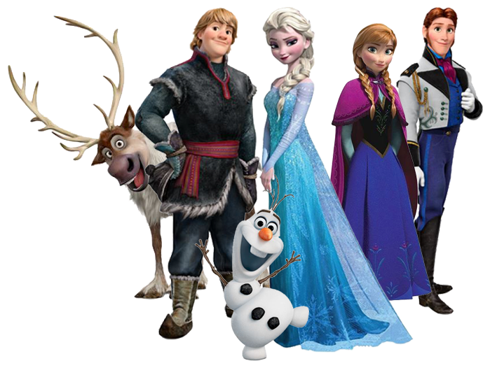 Image result for FROZEN CHARACTERS
