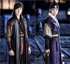 Jung Il Woo & Yunho for 'Night Watchman Journal'