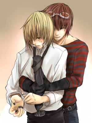 Mihael Kheel (Mello) and Mail Jeevas (Matt)