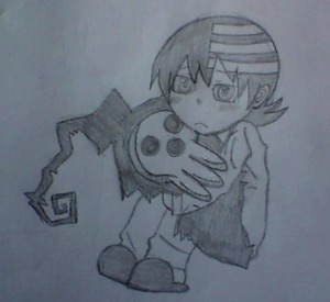 My Little Death The Kid Drawing
