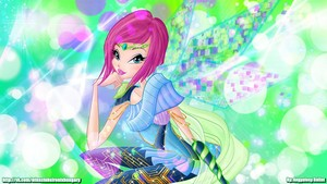 Tecna Bloomix wallpaper