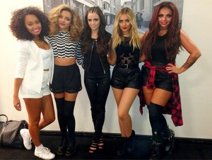The girls with Cher Lloyd