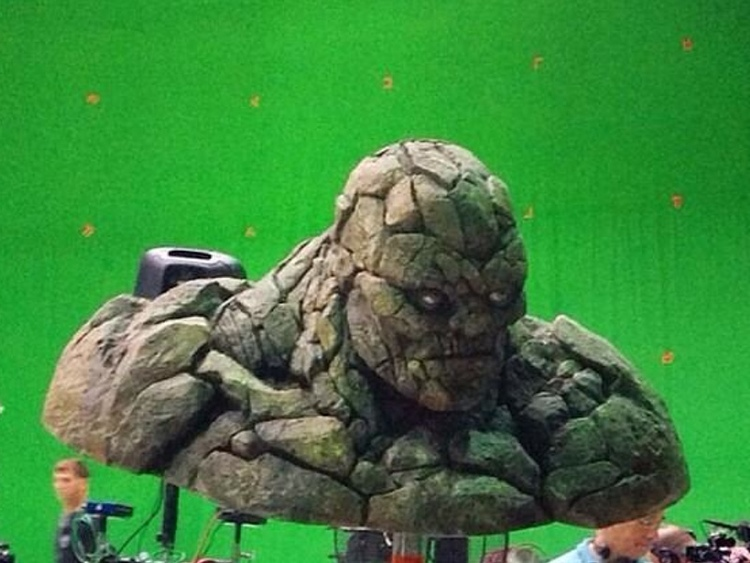 Thing Revealed in The Fantastic Four (2015)