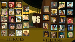 Villains Vs Heroes.