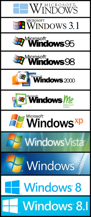 All Windows Logos