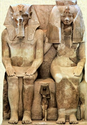 Amenhotep III and Tiye
