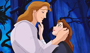 Beauty and the Beast দেওয়ালপত্র - Belle and Adam