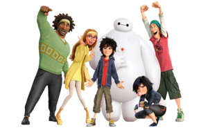 Big Hero 6 Transparent