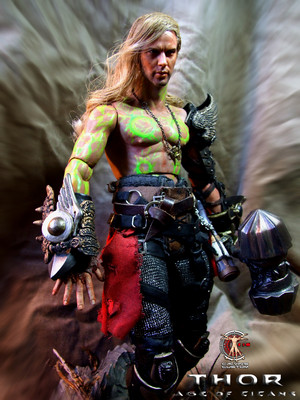 Calvin's Custom One Sixth Scale THOR figure