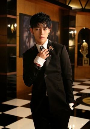 Daehyun's jacket photo for 4th Japanese single 'Excuse Me'