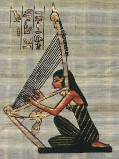 Egyptian Harpist