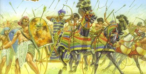 Egyptians In Battle
