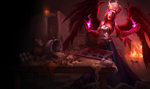 League Of Legends - Morgana