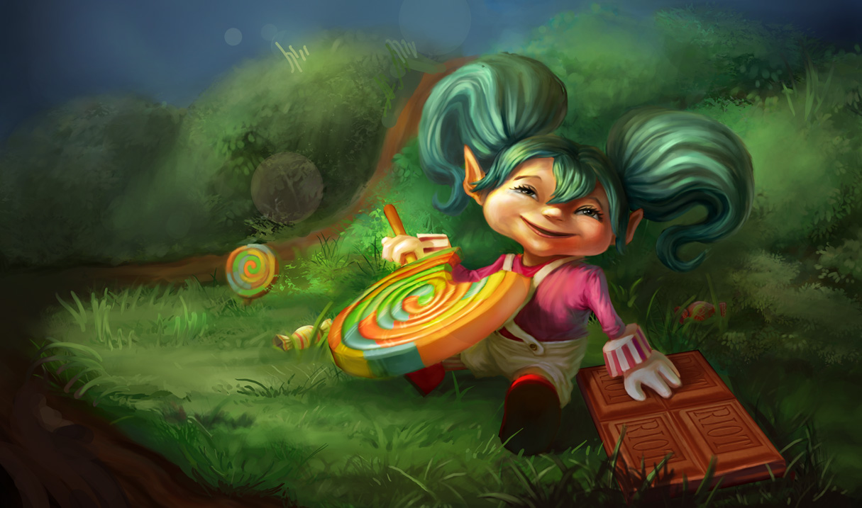 League Of Legends Poppy League Of Legends Photo 37471860