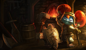 League Of Legends - poppy, babu
