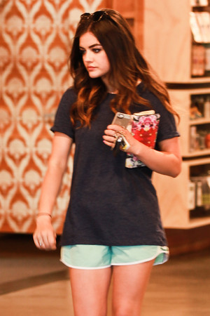 Lucy out in Studio City - August 1st