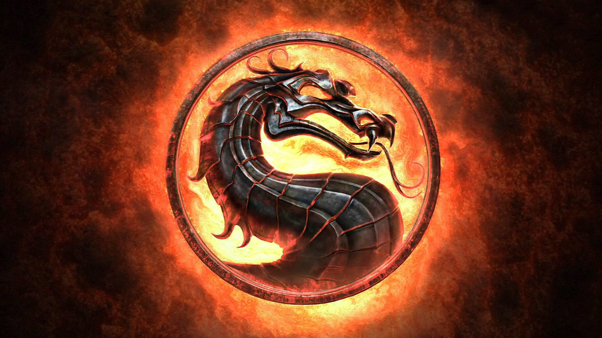 Mortal Kombat Logo - Видеоигры фото (37414415) - Fanpop