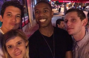 Selfie of The Fantastic Four (2015) Cast