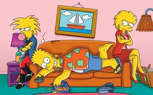 Simpsons children grown up