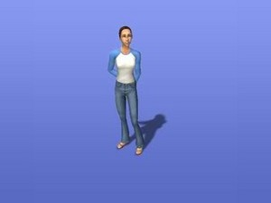kristy in the sims 2