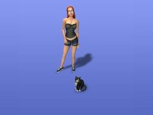 mallory in the sims 2