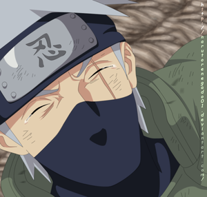 *Kakashi : Im proud of You*