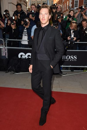 Benedict - GQ Awards Red Carpet