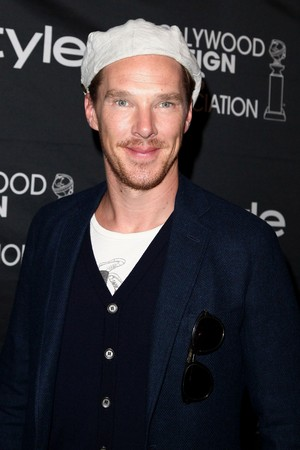 Benedict at the InStyle Arrivals