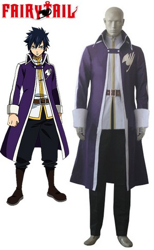 Fairy Tail Gray Fullbuster Cosplay Costume