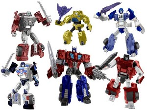 Fanmade Combiner Wars Autobots