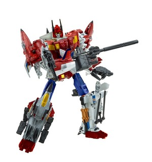Fanmade Combiner Wars Star Saber