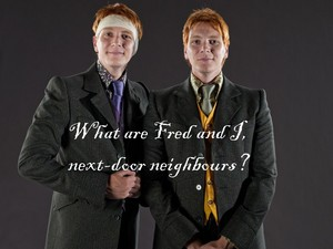 Fred and George quote
