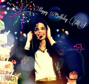 Happy Birthday Michael 29th August 2014