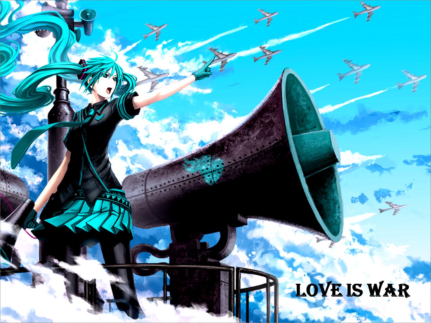 Hatsune Miku Love Is War Hatsune Miku Wallpaper 37551848