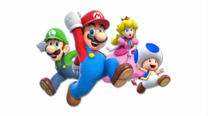 Mario and the gang