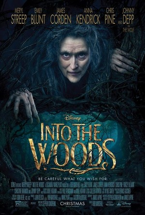 New Theatrical Poster of Into The Woods (2014)