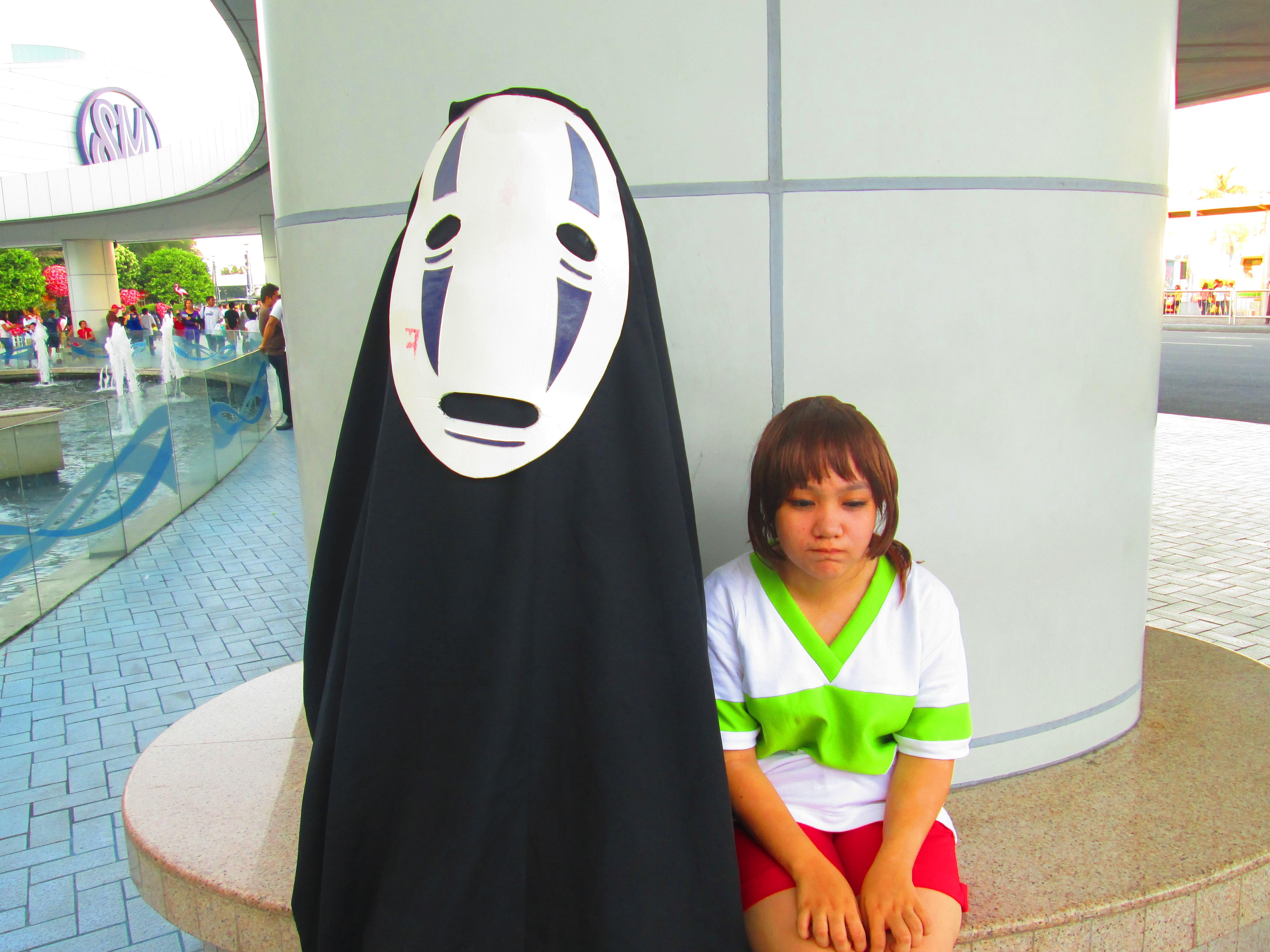 Noface And Chihiro Spirited Away Photo 37550006 Fanpop