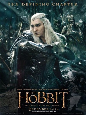 The Hobbit: The Battle Of The Five Armies - Thranduil Poster