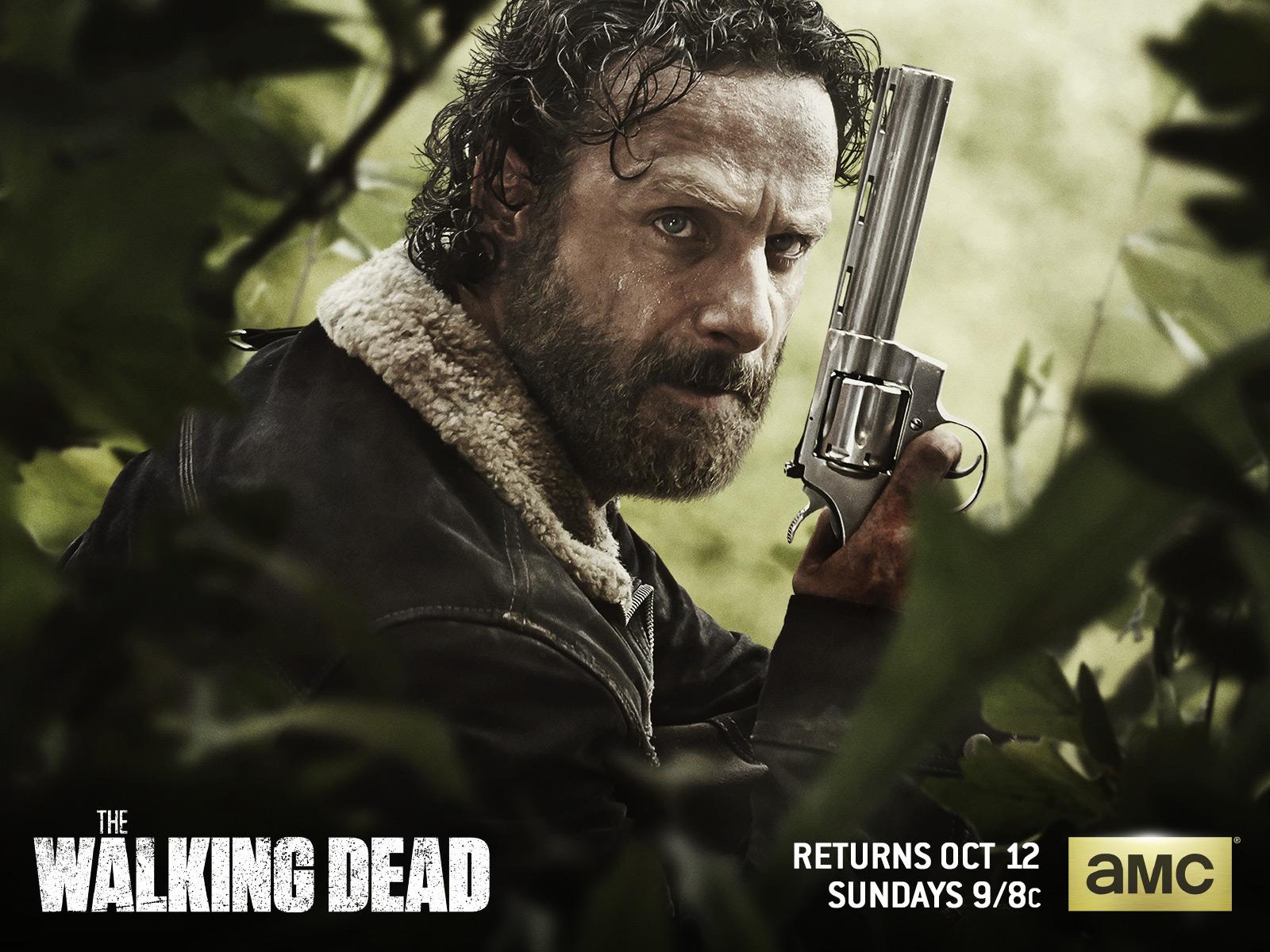 Rick Grimes The Walking Dead Wallpaper 37573072 Fanpop