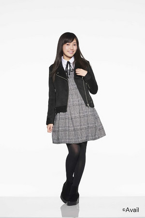 "Mayu in the clothes of ""AVAIL"""